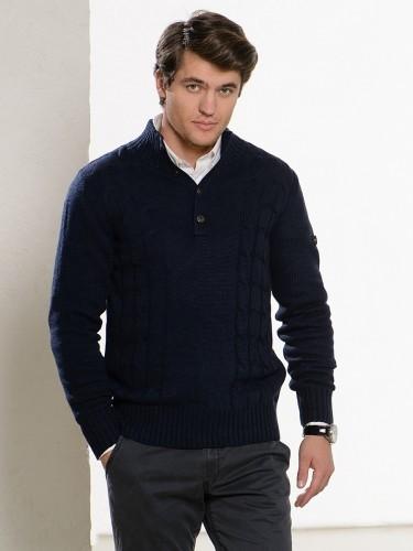 Как правильно носить мужской джемпер?