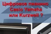 Цифровое пианино Casio Yamaha или Kurzweil