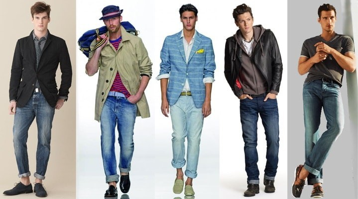 Как подворачивать джинсы широкие