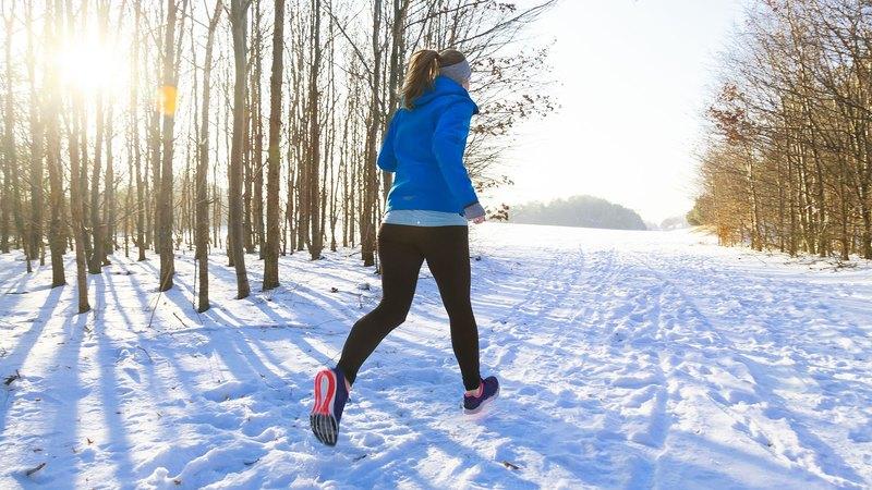 Бег зимой и похудение